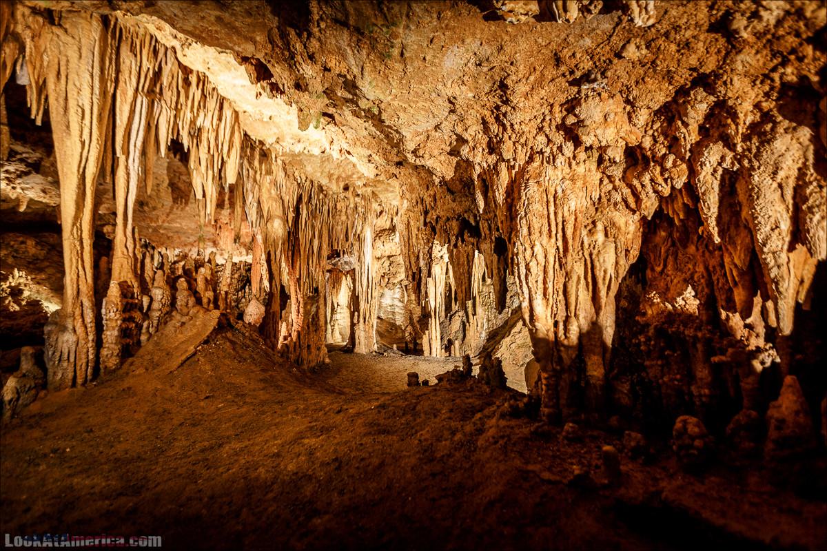 Пещеры Люрей, Вирджиния | Luray Caverns, Virginia | LookAtAmerica.com - Большое Американское путешествие LookAtIsrael.com