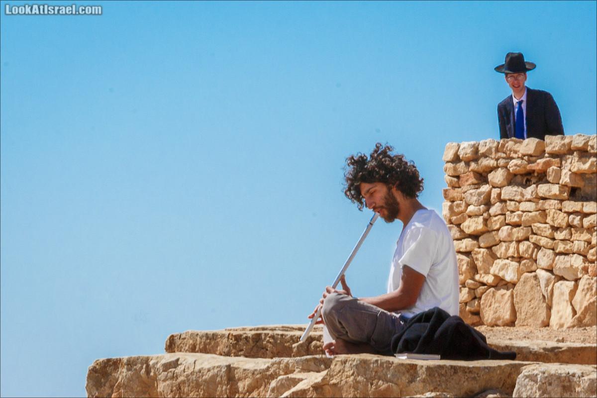 Одно фото музыки пустыни | LookAtIsrael.com - Фото путешествия по Израилю