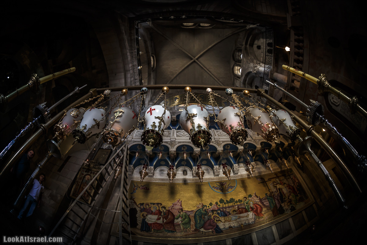 Крошки Иерсуалима - Храм Гроба Господня | LookAtIsrael.com - Фото путешествия по Израилю