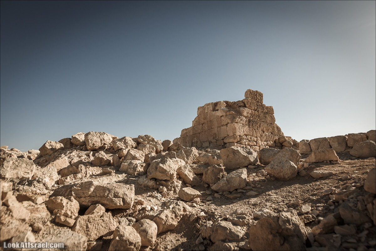 Город Набатеев Шивта | Shivta | שבטה | LookAtIsrael.com - Фото путешествия по Израилю