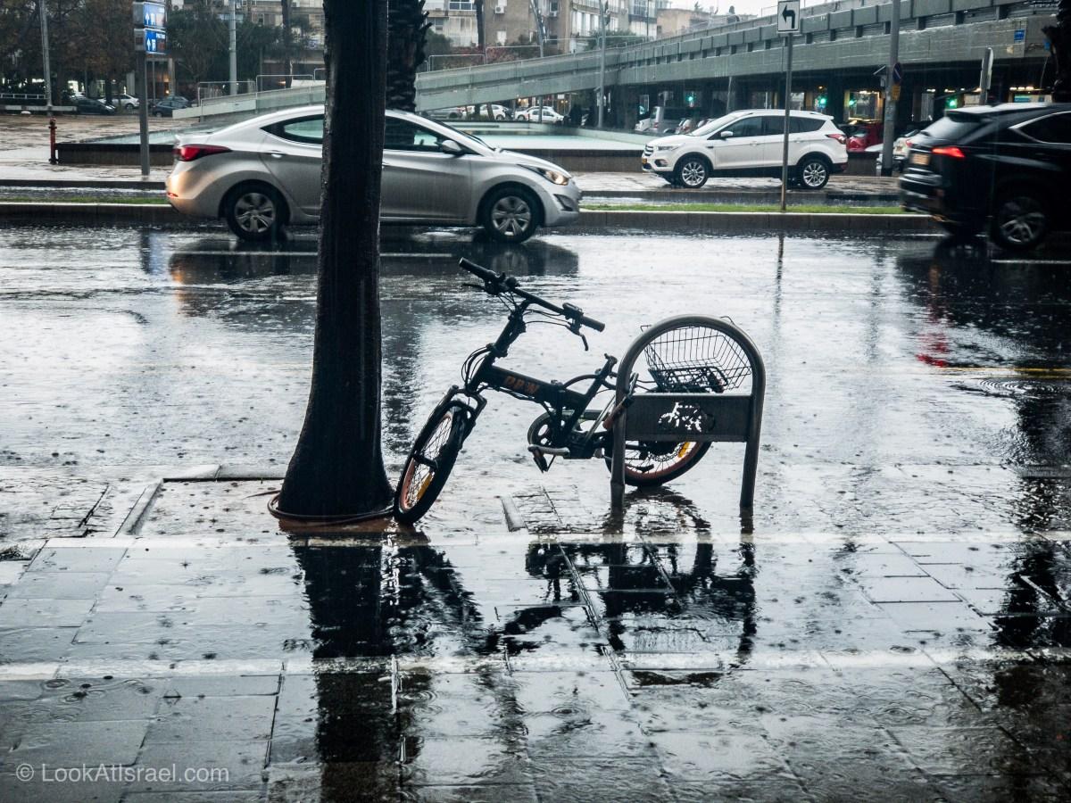 Дождливая зима в Тель-Авиве | LookAtIsrael.com - Фото путешествия по Израилю