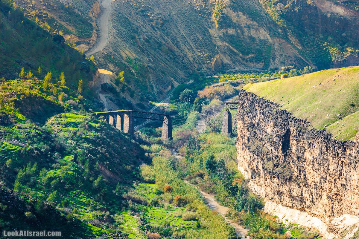Мост Эль-Хама, Голанские высоты - водопады и исторические места | LookAtIsrael.com - Фото путешествия по Израилю