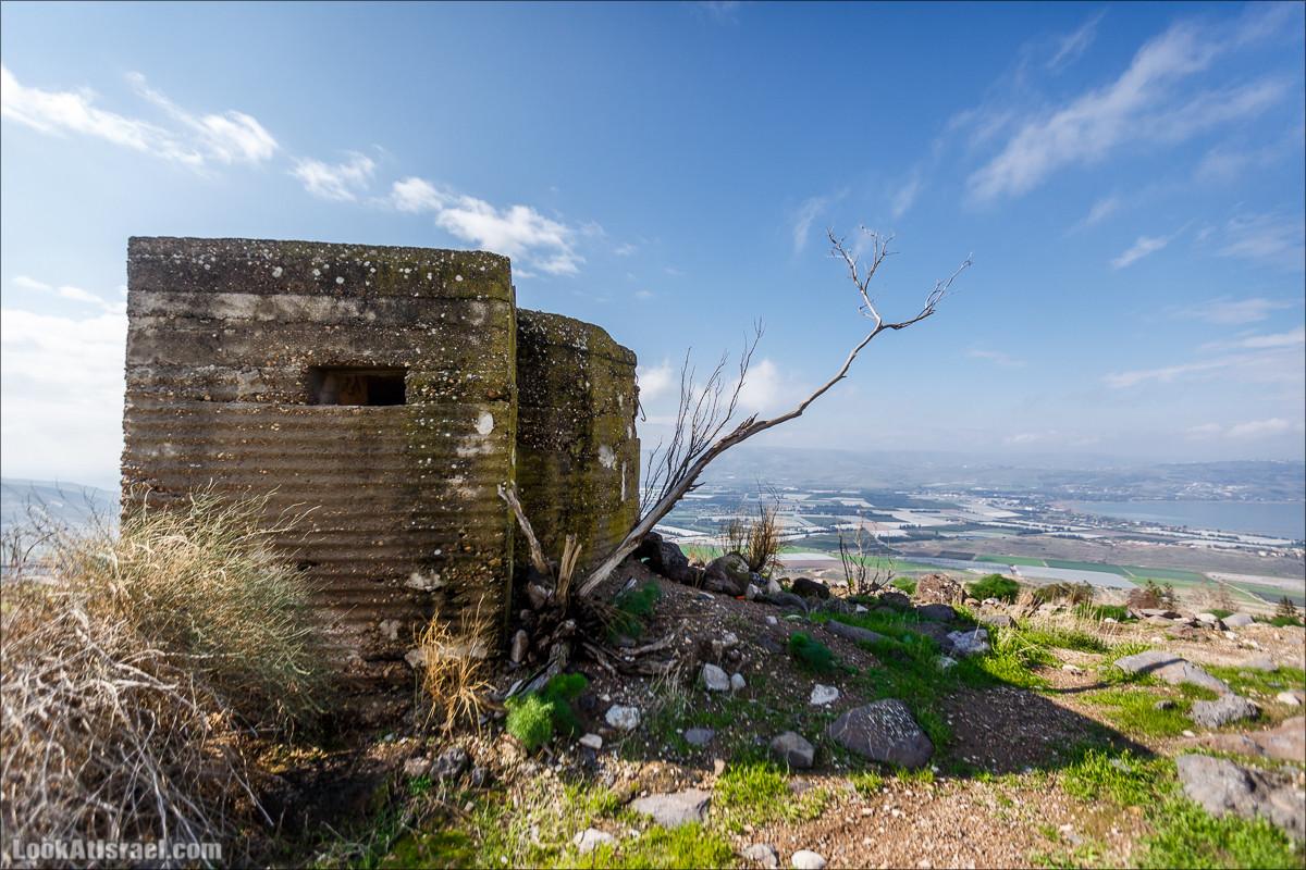 Голанские высоты - водопады и исторические места | LookAtIsrael.com - Фото путешествия по Израилю