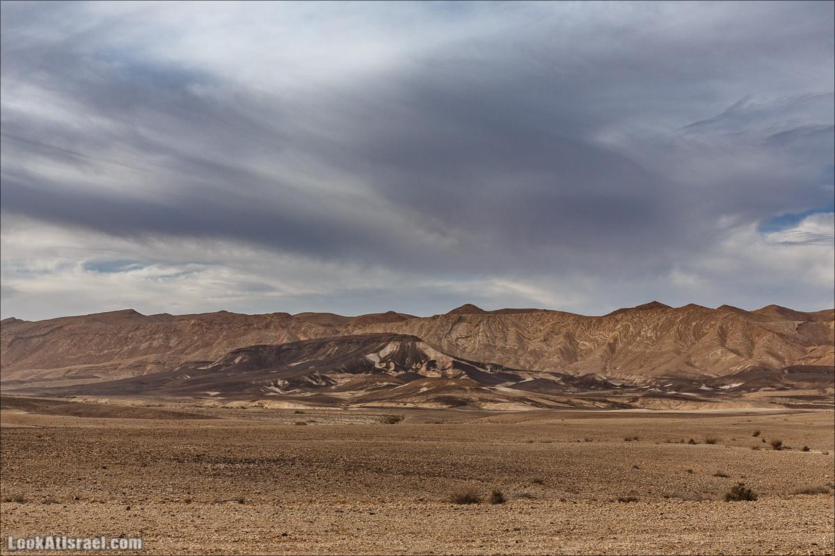 Обзор на гору Арод в Махтеш Рамон, ручей Нахаль Некарот | LookAtIsrael.com - Фото путешествия по Израилю