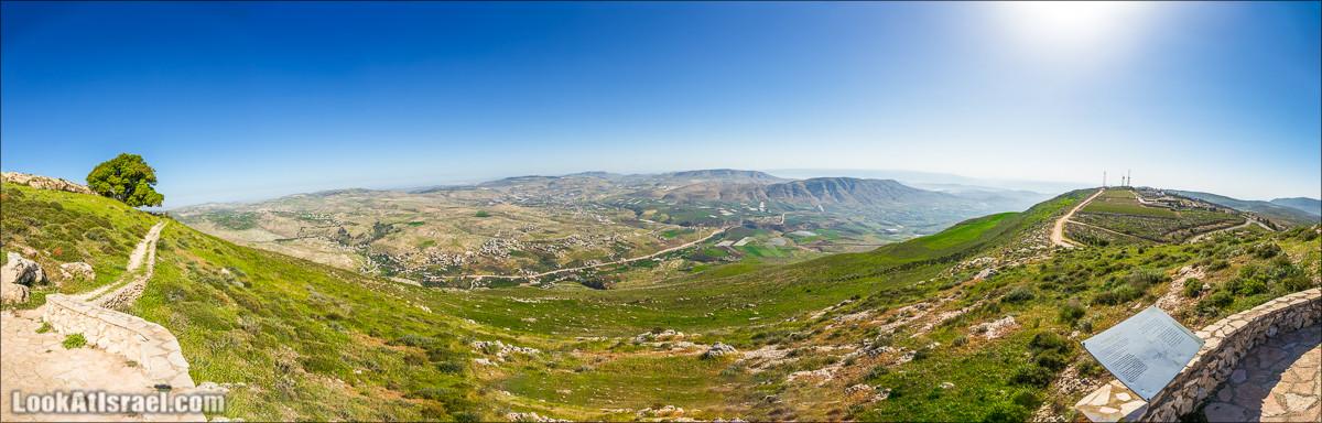 Гора Кабир и цветение самарийского ириса | הר קביר ואירוס שומרוני | LookAtIsrael.com - Фото путешествия по �зраилю