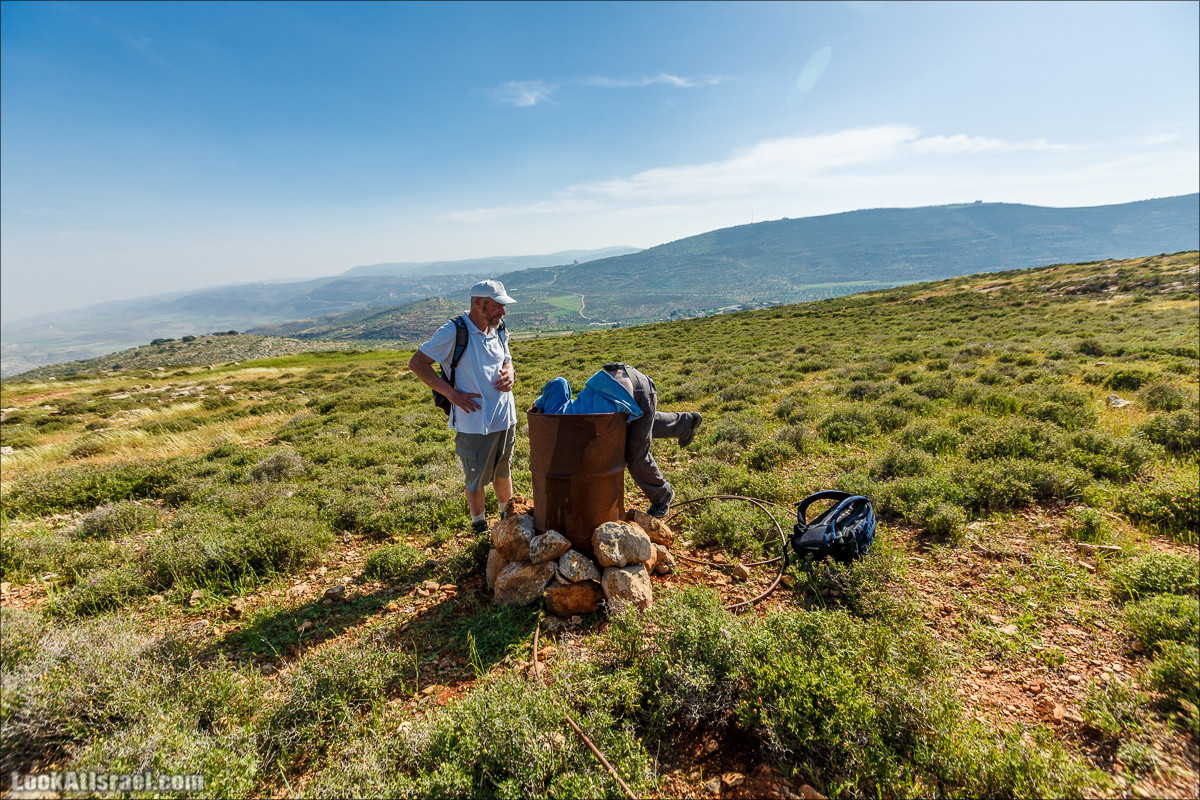 Первый дом на родине на высотке 777 в горах Самарии   LookAtIsrael.com - Фото путешествия по Израилю