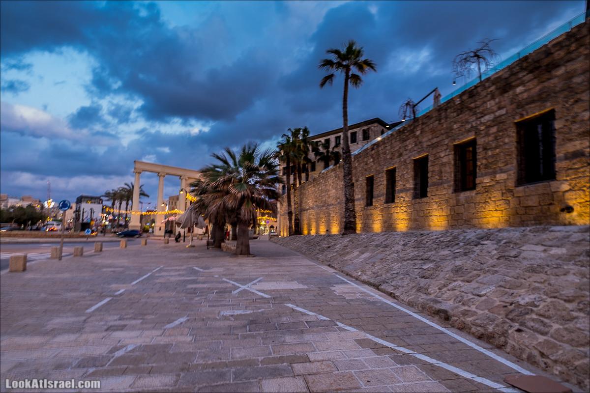 Вечер в древнем Яффо   LookAtIsrael.com - Фото путешествия по Израилю