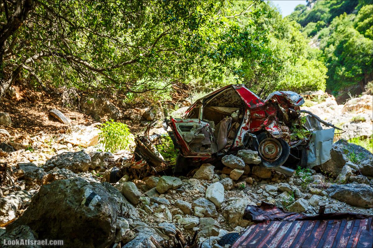 Лес тишины, дырявая пещера и ущелье разбитых автомобилей