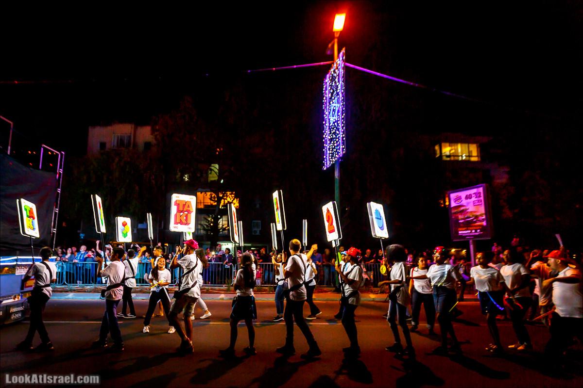 Парад света в Тель-Авиве в честь 70-летия государства Израиль   Parade of Lights in Tel Aviv, Independence day 70 of Israel   מצעד האור בתל אביב   LookAtIsrael.com - Фото путешествия по Израилю