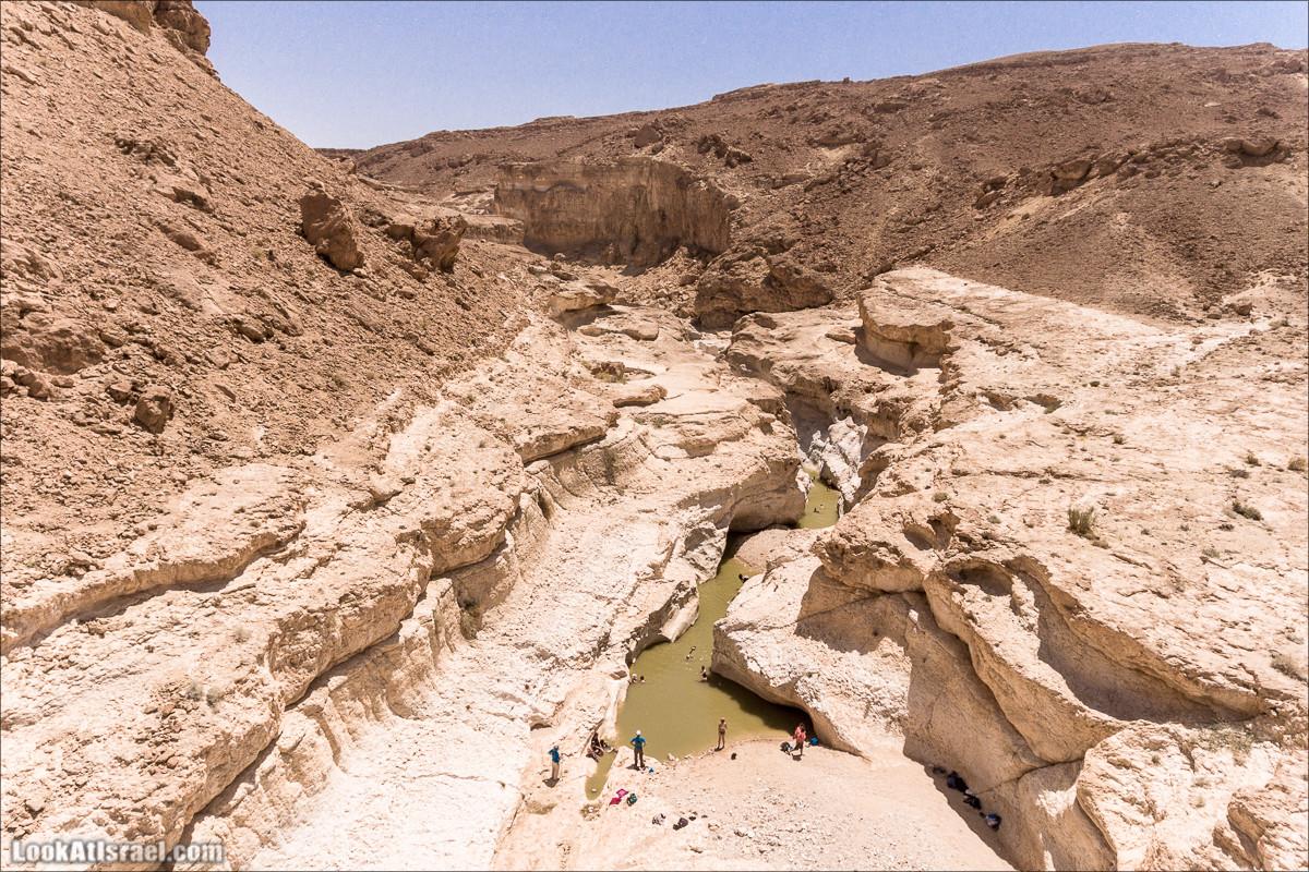 Вода и озеро в Парсат Некарот | מים בפרסת נקרות | LookAtIsrael.com - Фото путешествия по Израилю