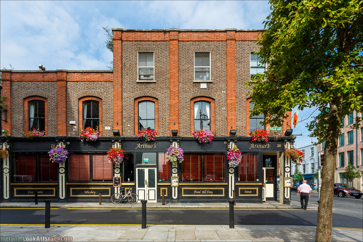 Дублин, пивоварня Гиннесс Guinness и вискокурня Джеймсон Jameson - LookAtIsrael.com путешествует по Ирландии