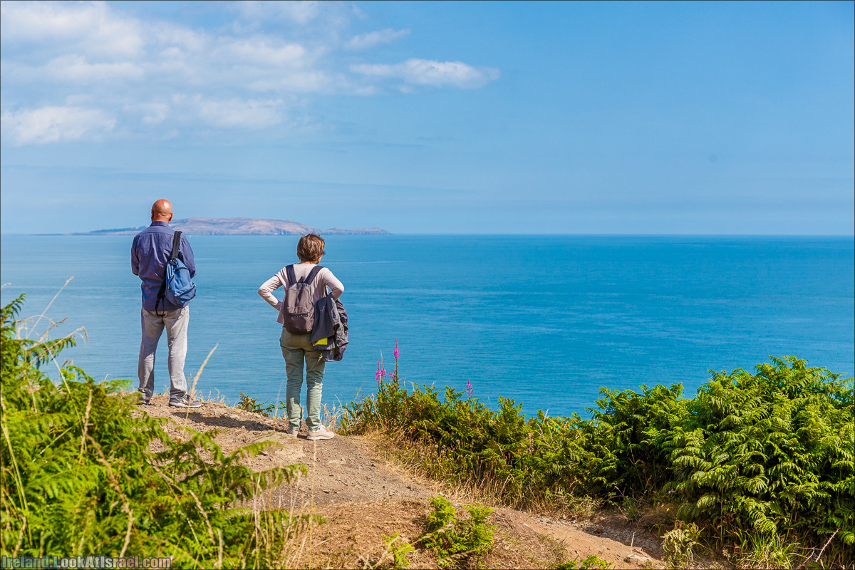 Круговой пеший трек вокруг полуострова Хоут (Howth) - LookAtIsrael.com путешествует по Ирландии