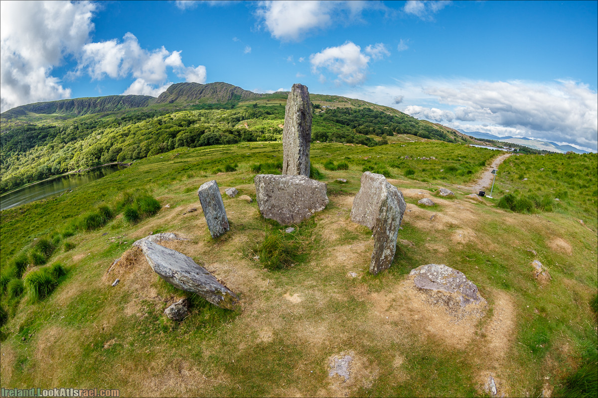 Кольцо Беара, каменное колцо Юраа и вододад парка Гленинчакин | The Ring of Beara, Uragh Stone Circle, Gleninchaquin Park & Waterfall | LookAtIsrael.com путешествует по Ирландии
