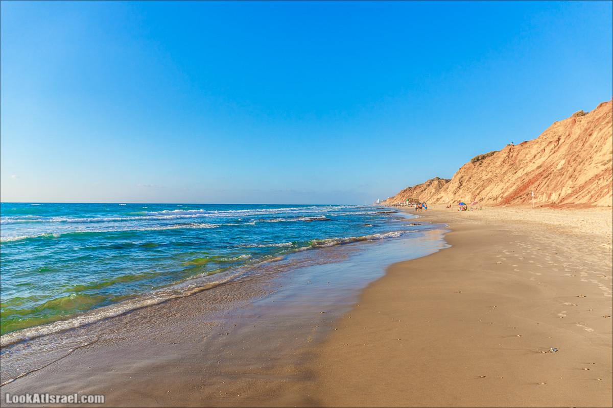 Скрытый берег в парке Хоф ha-Шарон | גן לאומי חוף השרון | LookAtIsrael.com - Фото путешествия по Израилю