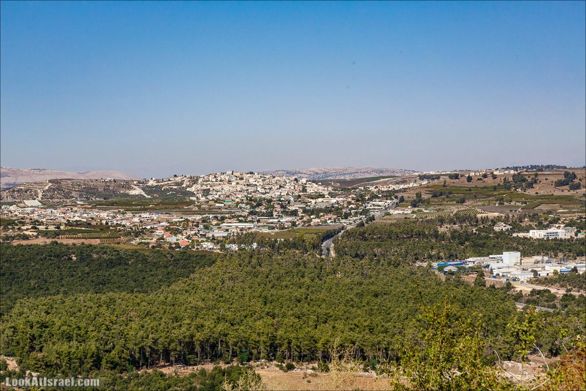 По окрестностям и вокруг горы Мирон   הר מירון   LookAtIsrael.com - Фото путешествия по Израилю