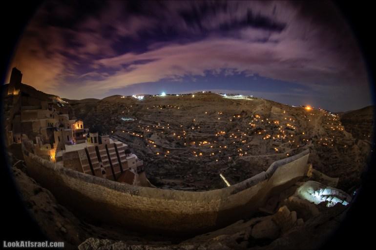 Ночь свечей - День монастыря Май Саба   LookAtIsrael.com - Фото путешествия по Израилю