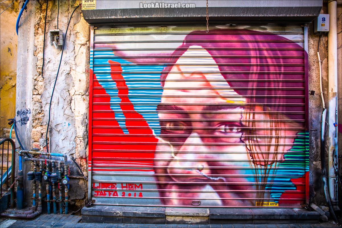 Граффити Тель-Авива | LookAtIsrael.com - Фото путешествия по Израилю