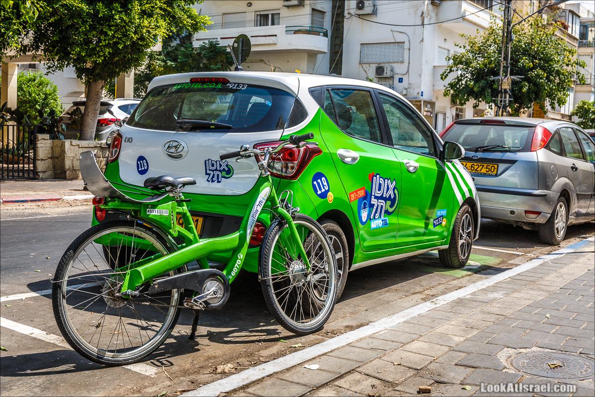 Крошки Тель-Авива - Случайные фотографии из жизни зеленых велосипедов tel-o-fun | LookAtIsrael.com - Фото путешествия по Израилю