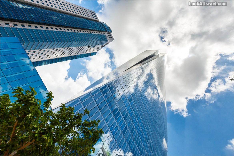 Небоскребы Тель-Авива - Азриели Сарона | LookAtIsrael.com - Фото путешествия по Израилю