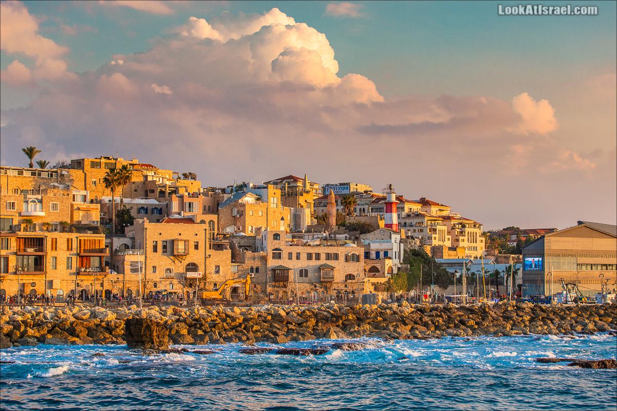 Закат в Яффо | LookAtIsrael.com - Фото путешествия по Израилю