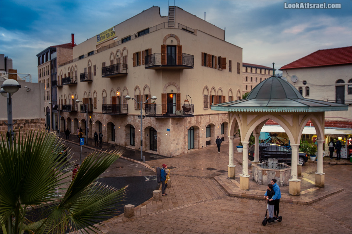Саксовонист в Яффо | LookAtIsrael.com - Фото путешествия по Израилю и не только...