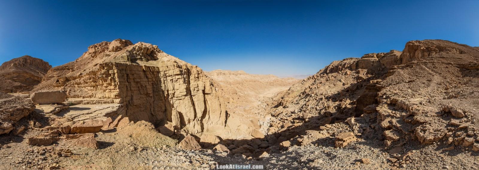 Эйлатские горы - Водопад в Нахаль Йотвата | LookAtIsrael.com - Фото путешествия по Израилю