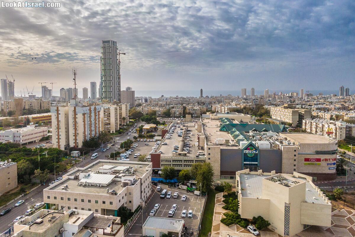 Бат Ям - аэрофотосъёмка и панорама 360 | Aerial Bat Yam 360 panoramic | LookAtIsrael.com - Фото путешествия по Израилю