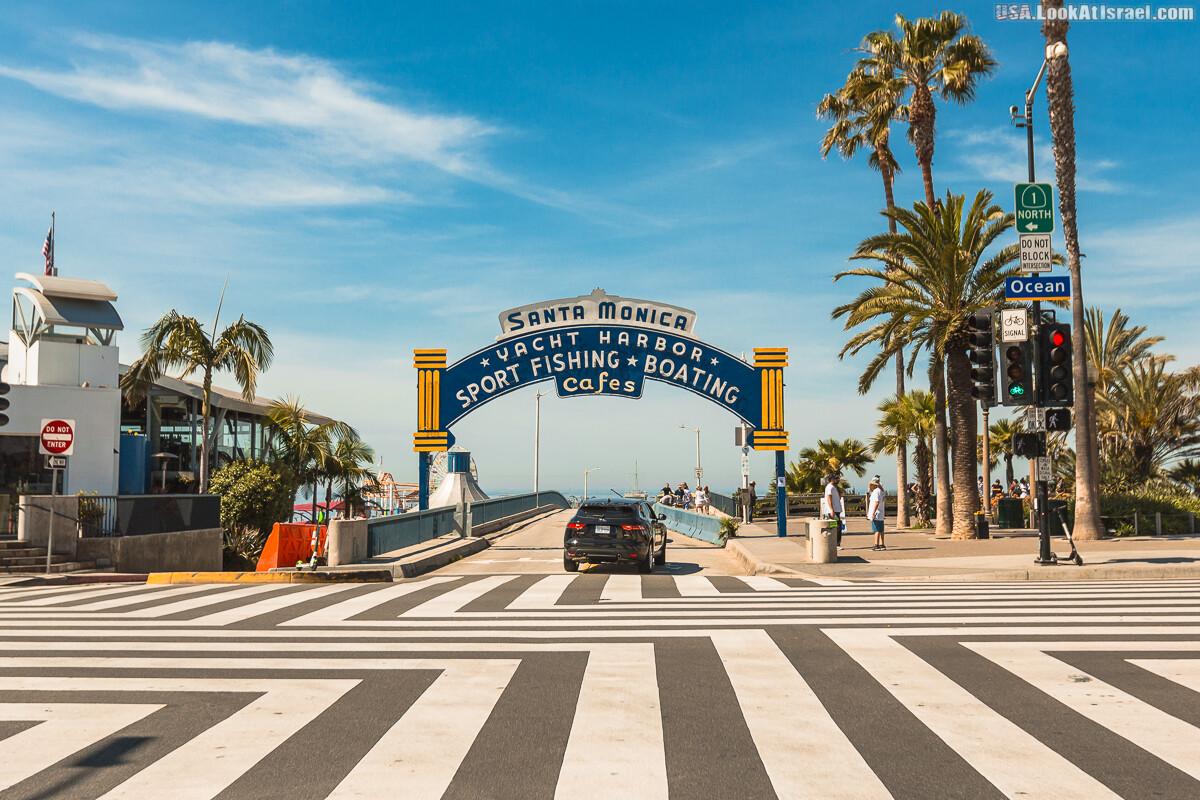 Санта Моника | LookAtIsrael.com - Фото путешествия по Израилю