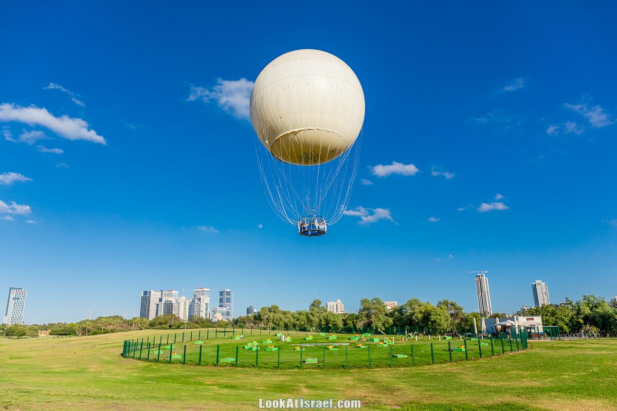 TLV Balloon - Полет на воздушном шаре над Тель-Авивом | Sky High over Tel Aviv | לעוף על תל אביב | LookAtIsrael.com - Фото путешествия по Израилю