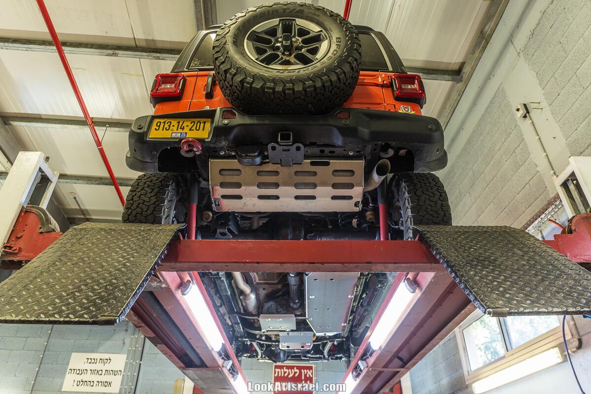 Установка защиты Asfir на Джип Рэнглер | Protecting Jeep wrangler Rubicon with Asfir | התקנת מיגונים אספיר לג׳יפ רנגלר | LookAtIsrael.com - Фото путешествия по Израилю
