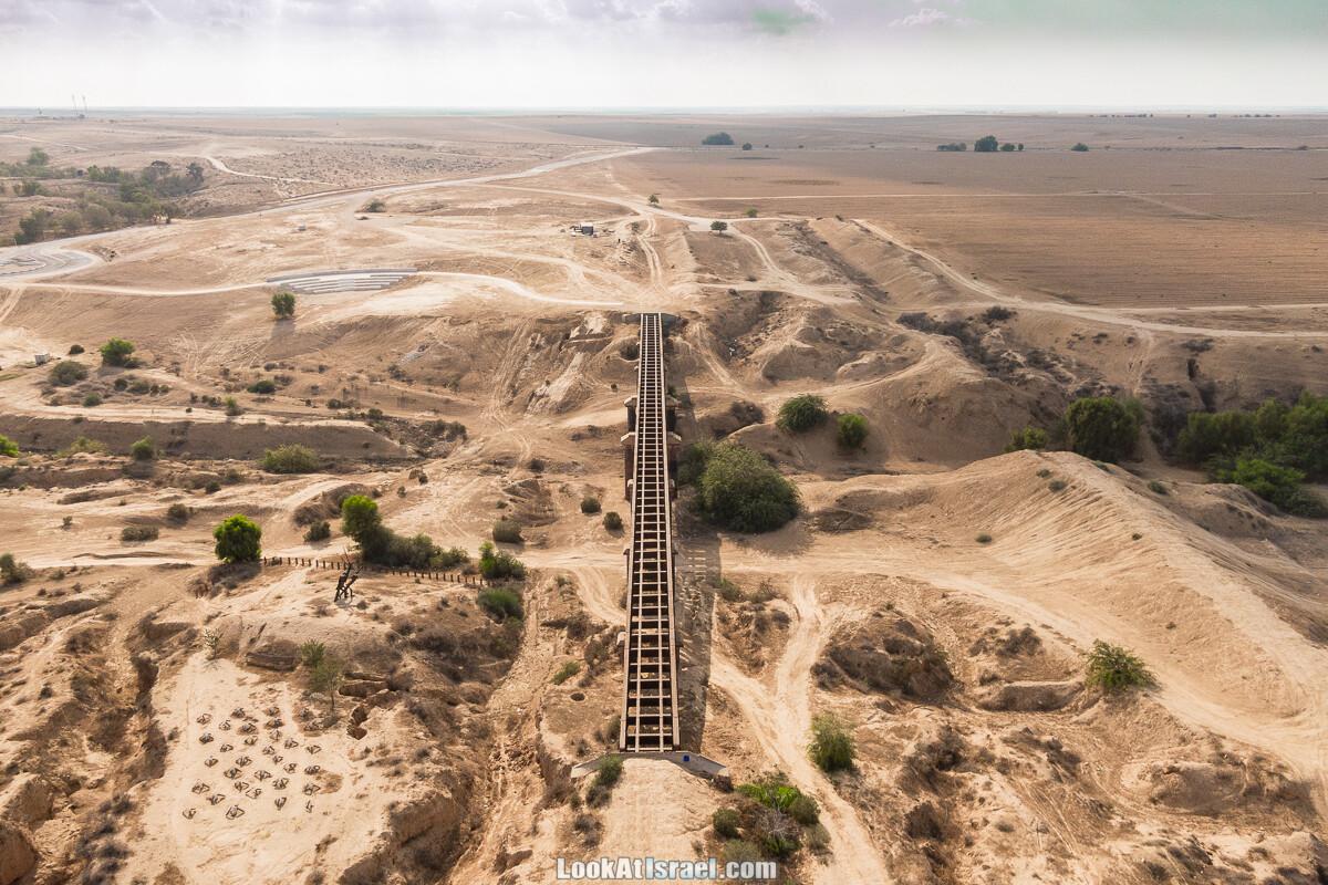 Останки британского моста над ручьём Офаким |גשר הרכבת הבריטי על נחל אופקים | LookAtIsrael.com - Фото путешествия по Израилю
