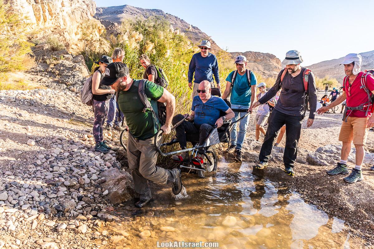 Приключения для всех - Амута Этгарим |עמותת אתגרים | ספורט אתגרי העצמה ושילוב חברתי של אנשים מיוחדים | LookAtIsrael.com - Фото путешествия по Израилю