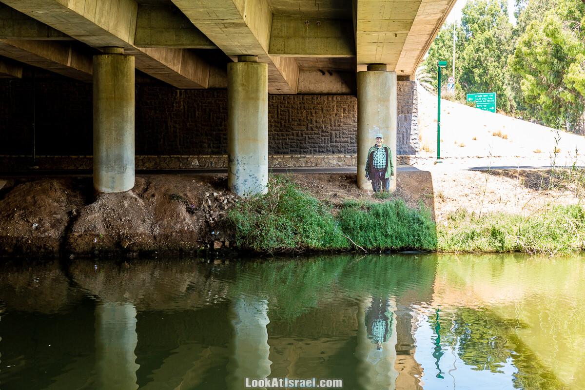 Граффити Тель-Авива под мостом | LookAtIsrael.com - Фото путешествия по Израилю
