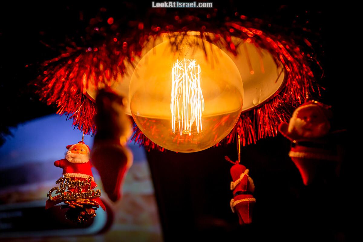 Рождественское убранство в Яффо | LookAtIsrael.com - Фото путешествия по Израилю