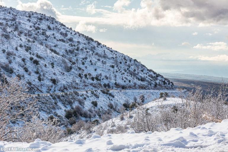 Снег на горе Хермон, Израиль   LookAtIsrael.com - Фото путешествия по Израилю