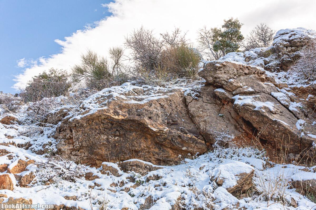 Снег на горе Хермон, Израиль | LookAtIsrael.com - Фото путешествия по Израилю