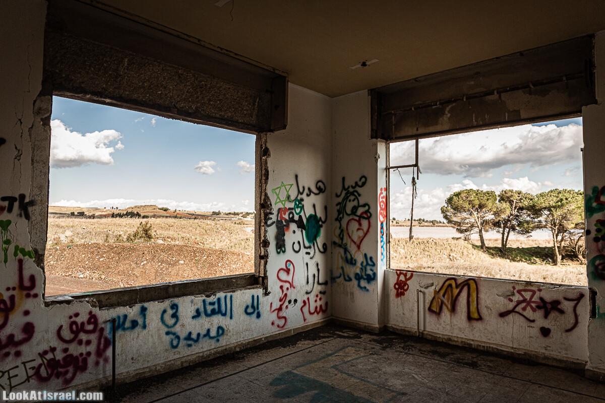 Граффити в заброшенном здании