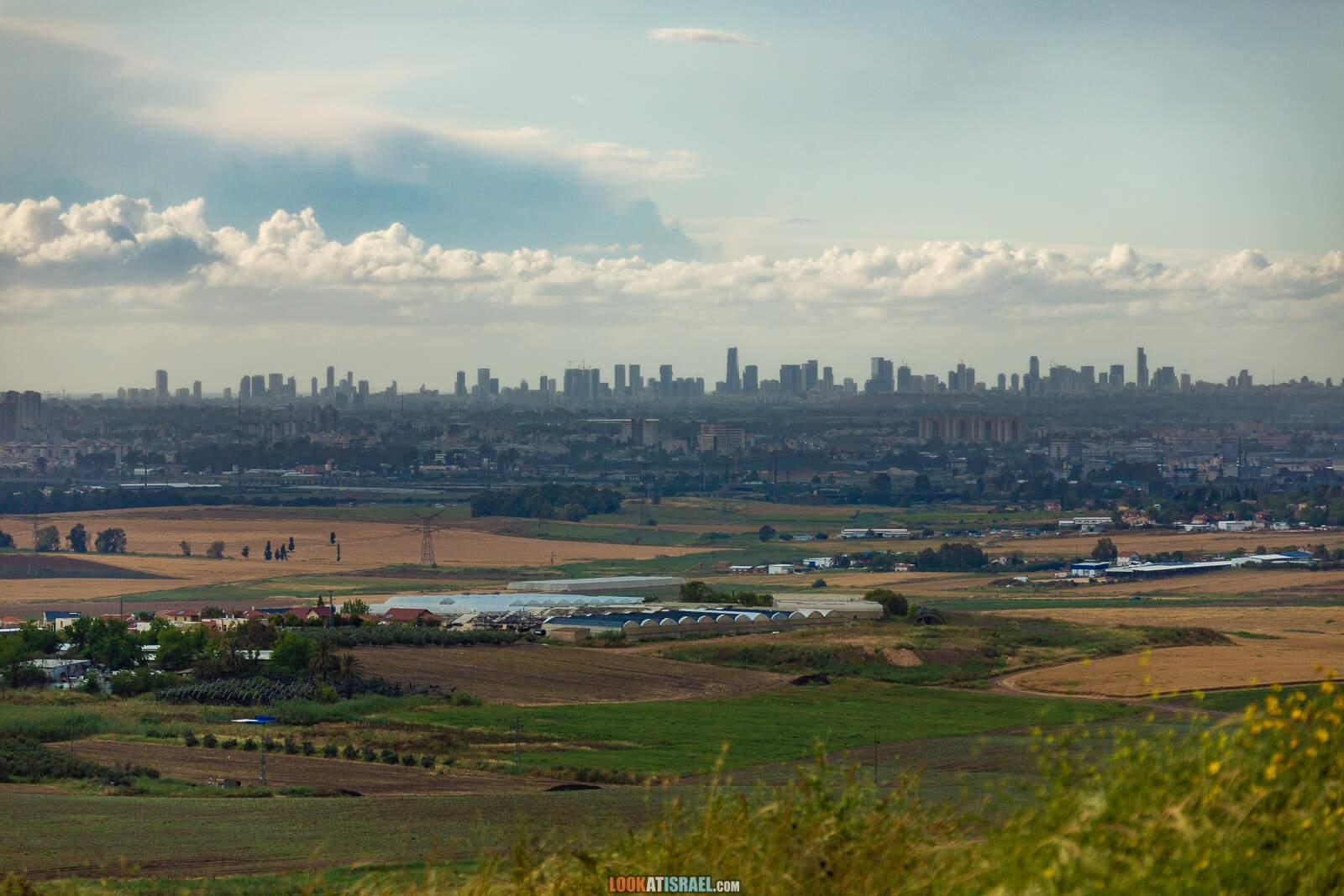 Первая вылазка на природу после месяца карантина. Тель Гезер | LookAtIsrael.com - Фото путешествия по Израилю