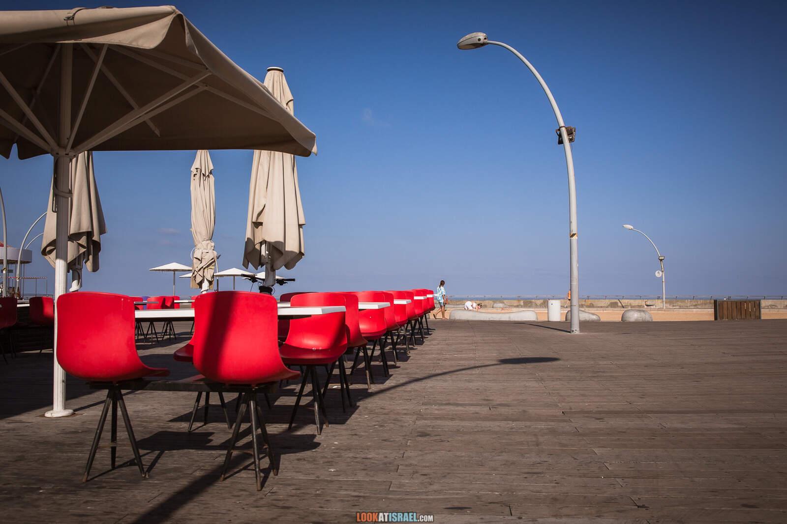 Порт Тель-Авива во время карантина   Lockdown in port of Tel Aviv