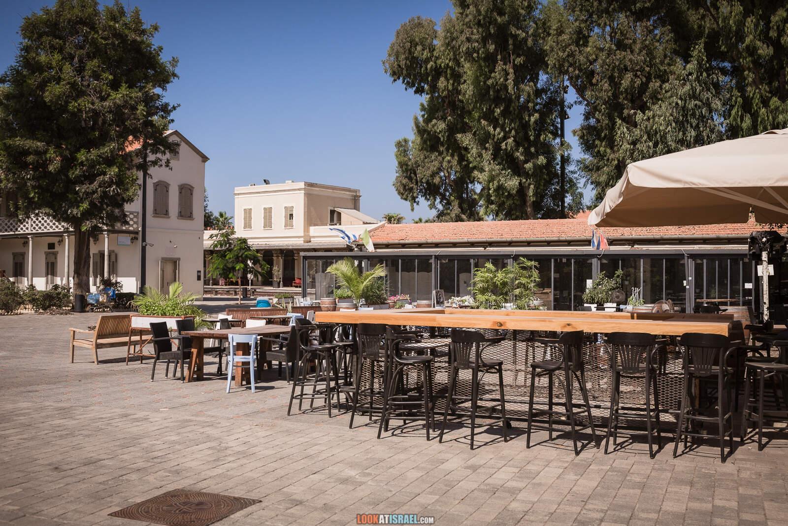 Тель-Авив, железнодорожная станция Ха-Тахана во время карантина