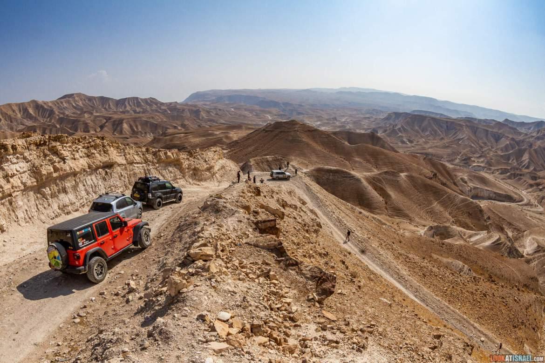 Поворот смрети в Иудейской пустыне - סיבוב המוות