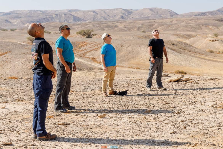 Путешествие на внедорожниках по пустыне Арава, заповедник Больших Рек (Нахалим а-гдолим) | טיול שטח בערבה - שמורת נחלים הגדולים