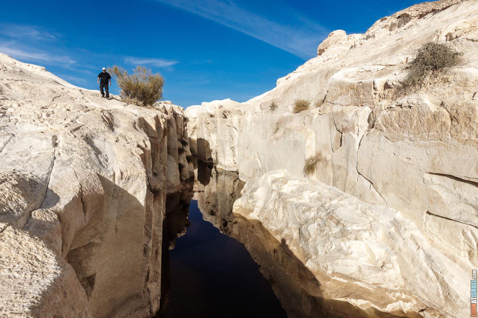 Белый каньон в пустыне Негев (гора Карком) | White canyon in Negev desert | קניון הלבן בננגב | LookAtIsrael.com - Фото путешествия по Израилю