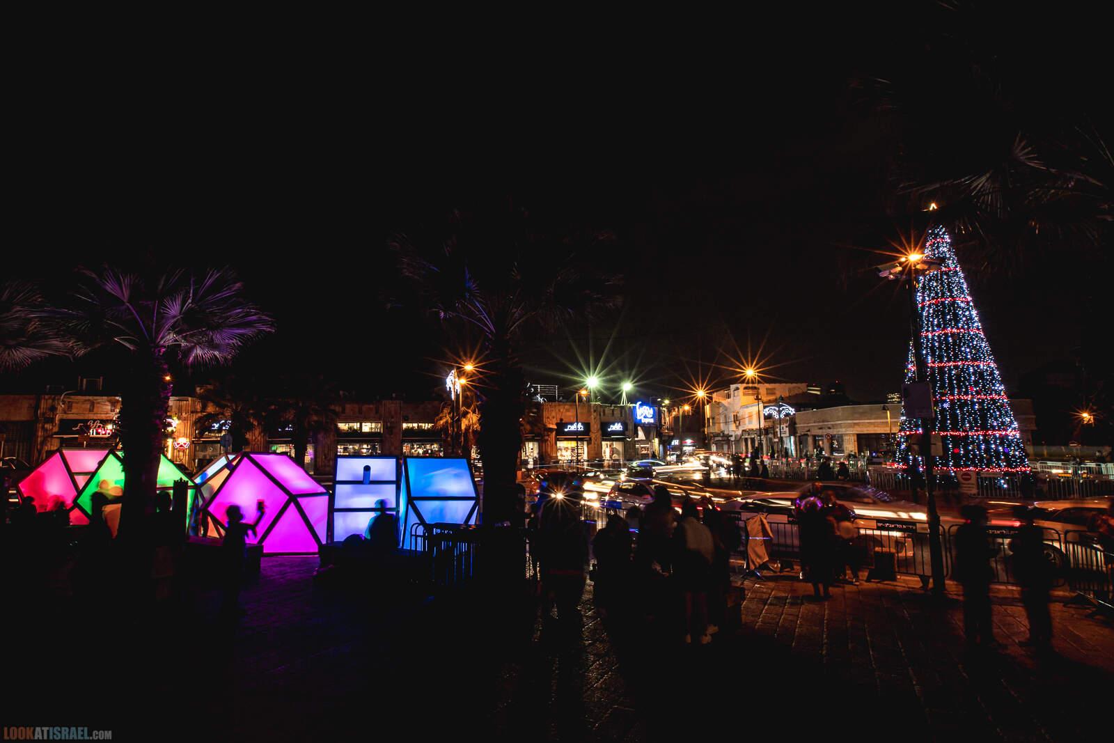 Рождественская ёлка в Яффо 2020 | LookAtIsrael.com - Фото путешествия по Израилю