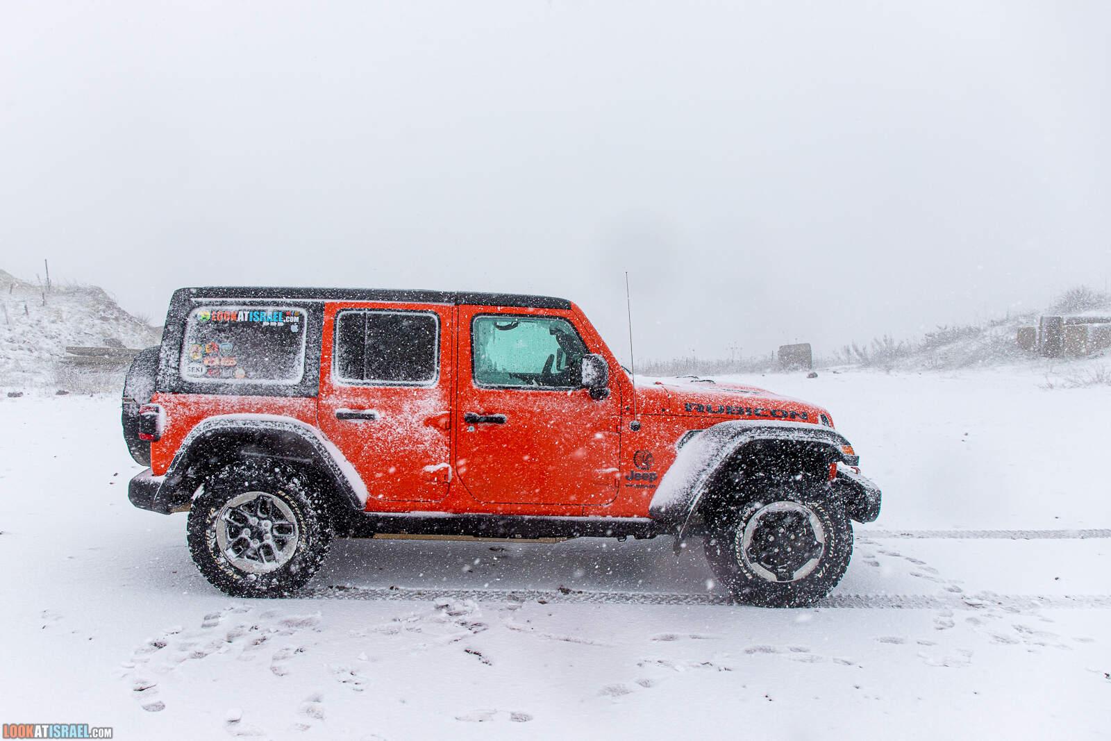 Снег на Голанских высотах - Зима во время карантина