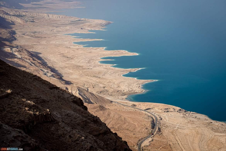 Иудейская пустыня, Обзорная точка на Мертвое море с Мацок Этеким | LookAtIsrael.com - Фото путешествия по Израилю