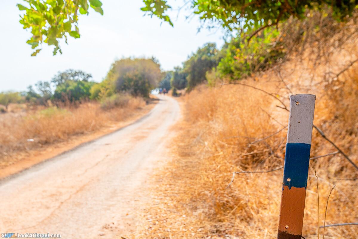 Тропа Израиля, участок 02-1: Кфар Гилади - Накикей Ифтах
