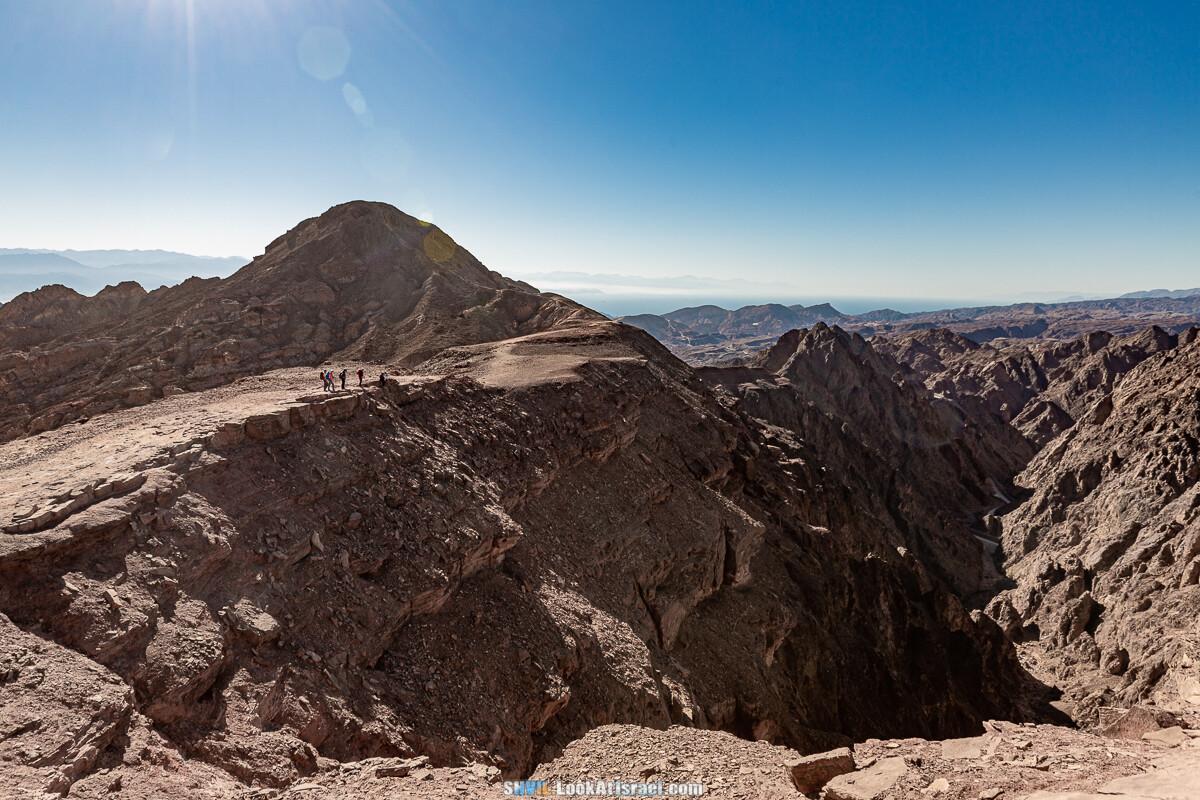 Тропа Израиля, участок 46: Гора Йоаш - Эйлат. Ущелье Гешрон