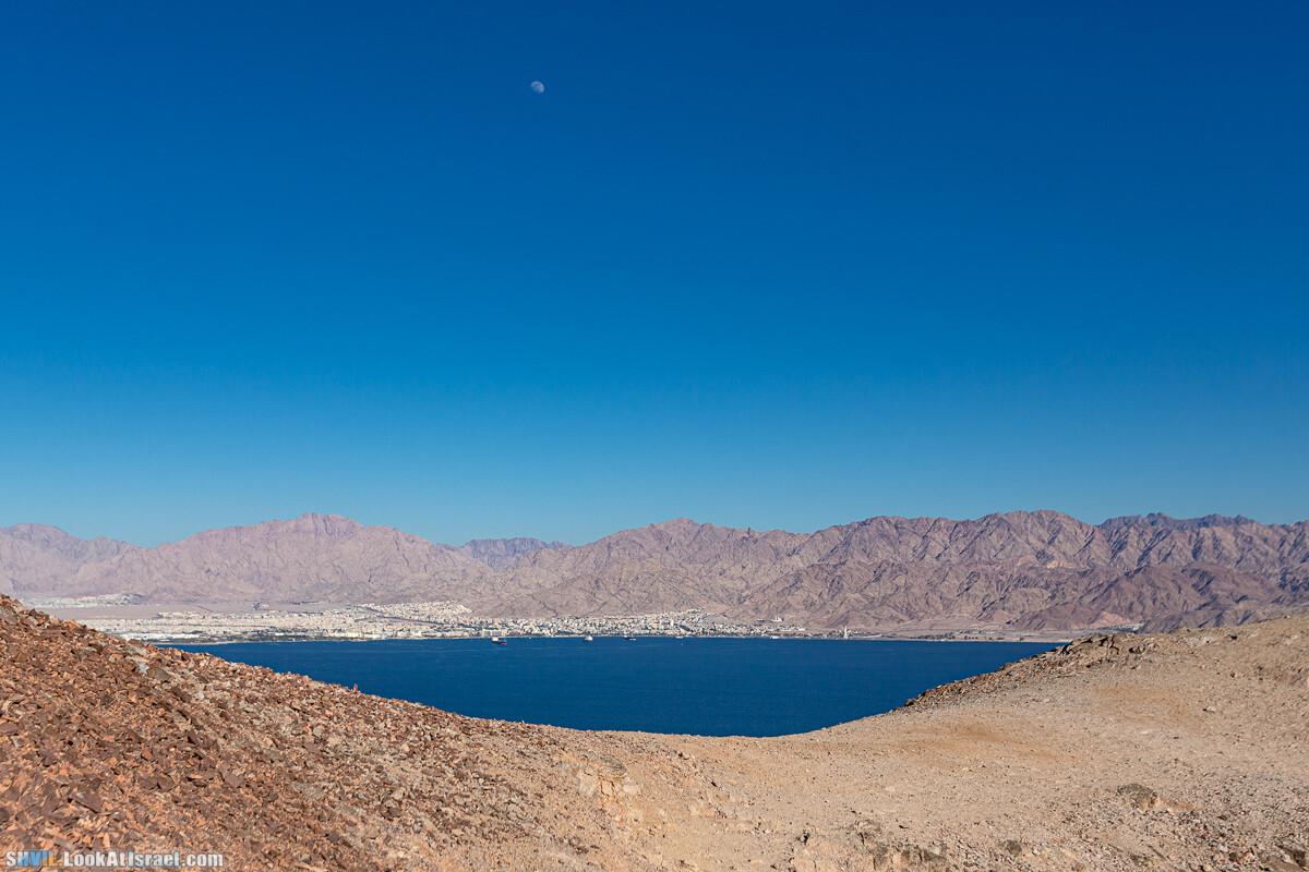 Израильская тропа, участок 46 Гора Йоаш - Вади Гешрон - Эйлат | Israel National Trail - Yoash Mt - Eilat | שביל ישראל, קטע 46 - הר יואש - אילת | shvil.LookAtIsrael.com - Фото путешествия по Израилю