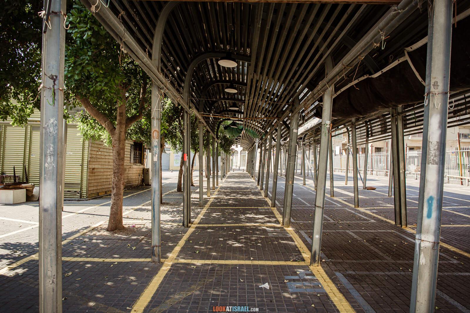 Карантин в Яффо, закрытые магазины и рестораны | Lockdown in Jaffa | יפו בסגר